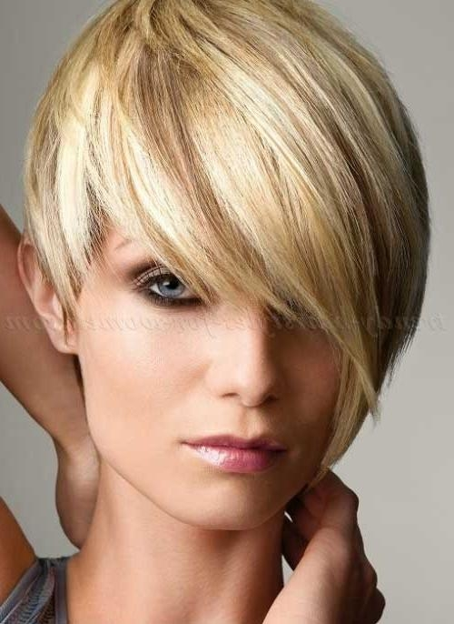 20 Short Hair With Fringe | Short Hairstyles 2016 – 2017 | Most With Regard To Short Hairstyles With Fringe (View 6 of 20)