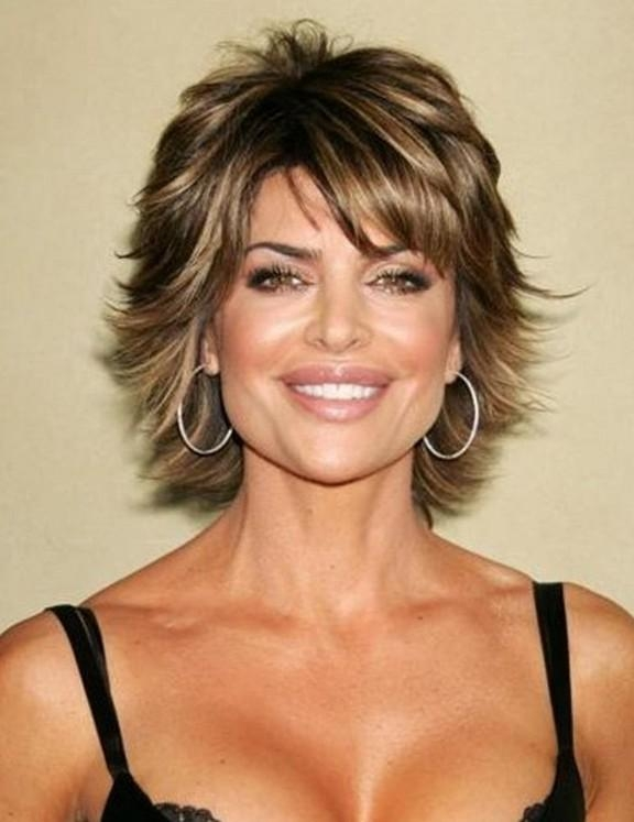 20+ Short Haircuts For Women Over 50 – Pretty Designs Intended For Short Hairstyles For Pointy Chins (View 3 of 20)