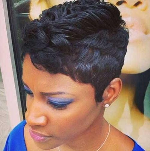 20 Short Pixie Haircuts For Black Women | Short Hairstyles 2016 With Regard To Mohawk Short Hairstyles For Black Women (View 11 of 20)