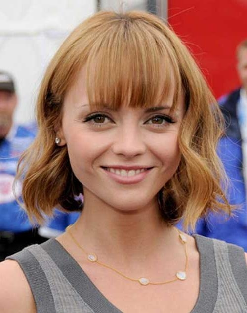 20 Short Wavy Hairstyles With Bangs | Short Hairstyles 2016 – 2017 Intended For Carrie Bradshaw Short Haircuts (View 18 of 20)