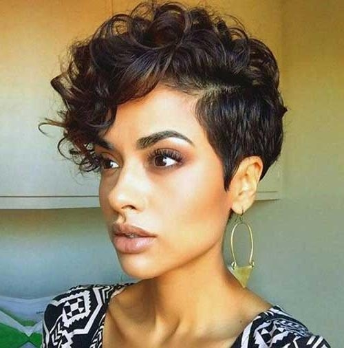 20 Very Short Curly Hairstyles | Short Hairstyles 2016 – 2017 For Short Hairstyles For Very Curly Hair (View 5 of 20)