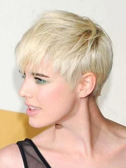 2012 – 2013 Feminine Short Haircuts – Short Blonde Hairstyles In Feminine Short Haircuts (View 4 of 20)