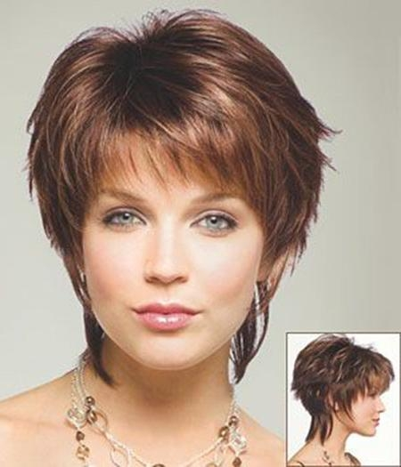 20 photo of short haircuts with lots of layers