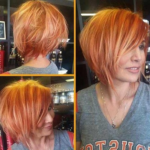 2015 – 2016 Best Short Haircuts | Short Hairstyles 2016 – 2017 In Strawberry Blonde Short Haircuts (View 5 of 20)