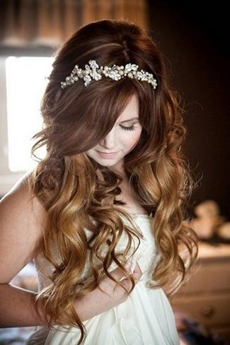2017 Bridal Long Hairstyles In 20 Long Wedding Hairstyles (View 1 of 20)
