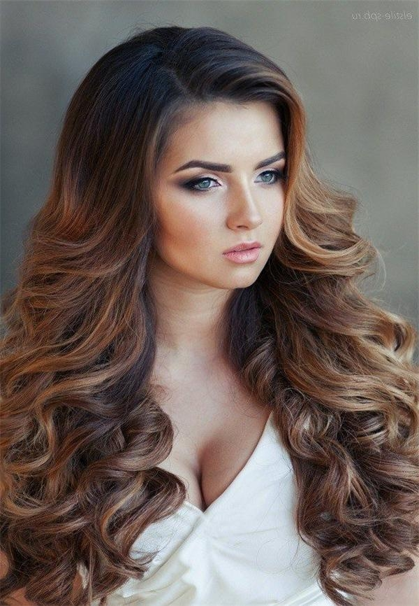 2017 Down Long Hairstyles Regarding Wedding Hairstyles For Long Hair Down – Hottest Hairstyles (View 2 of 20)