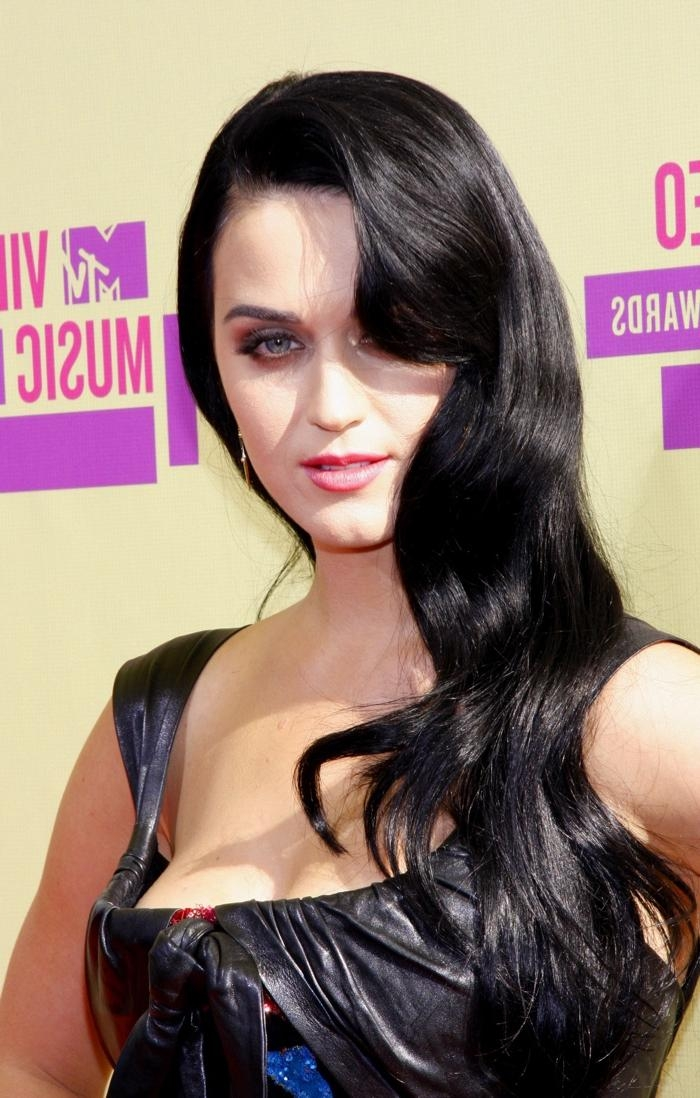 2017 Katy Perry Long Hairstyles Intended For Katy Perry Brown Hair – Brown Hairs (View 2 of 15)