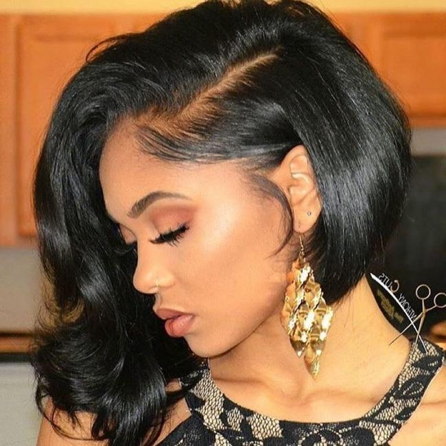 2017 Long And Short Bob Hairstyles For Black Women – Page 2 Pertaining To Soft Short Hairstyles For Black Women (View 4 of 20)