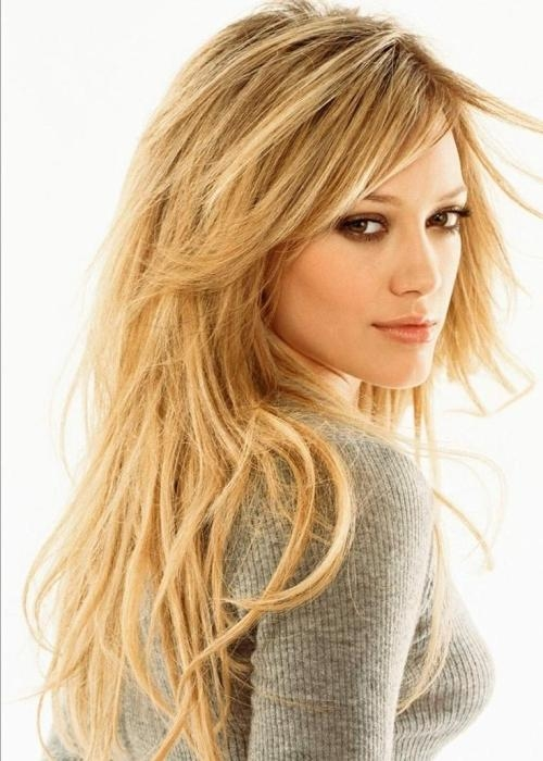 2017 Long Haircuts For Fine Straight Hair For Haircuts For Women Long Hair Jagged Long Haircuts 2014 For Women (View 1 of 15)