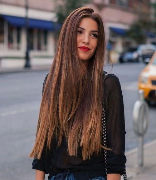 2017 Long Haircuts For Thick Hair For 25+ Trending Thick Hair Ideas On Pinterest   Haircut For Thick (View 2 of 15)