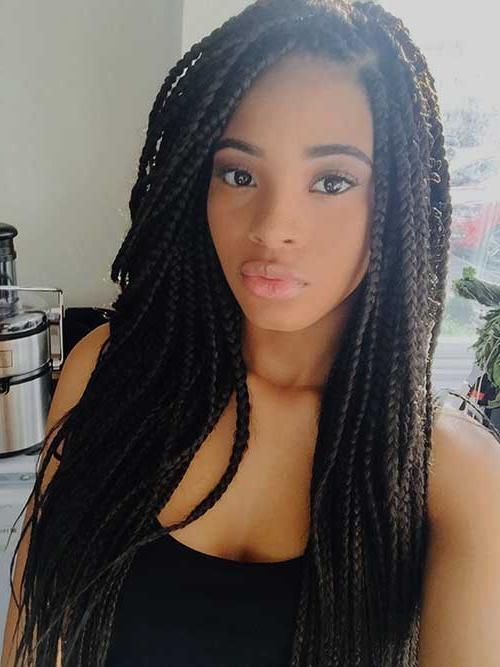 2017 Long Hairstyles For Black Hair Regarding 15+ Hairstyles For Black Women With Long Hair | Hairstyles (View 2 of 20)
