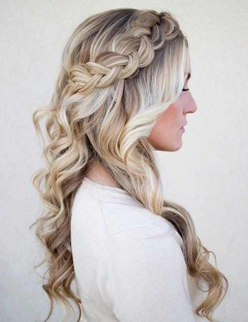 2017 Long Hairstyles For Bridesmaids Regarding 25+ Bridesmaids Hair | Long Hairstyles 2017 & Long Haircuts (View 11 of 20)