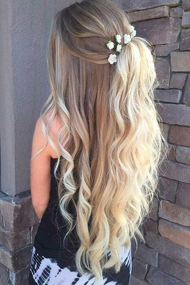 2017 Long Hairstyles For Dances Pertaining To Best 25+ Hairstyles For Prom Ideas On Pinterest | Hair Styles For (View 7 of 20)