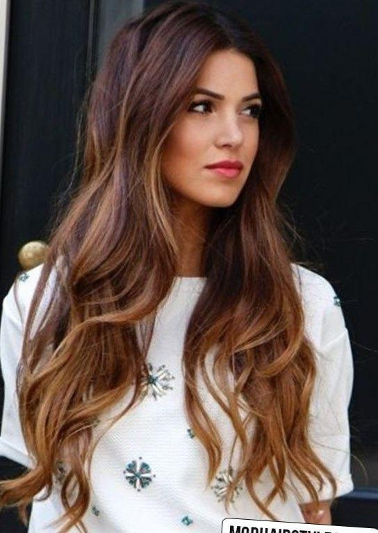 2017 Long Hairstyles For Fall In 363 Best Hairstyles And Haircuts 2016 2017 Images On Pinterest (View 1 of 20)