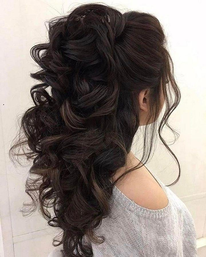 2017 Long Hairstyles For Homecoming Intended For 25+ Unique Homecoming Hairstyles Ideas On Pinterest | Homecoming (View 1 of 20)