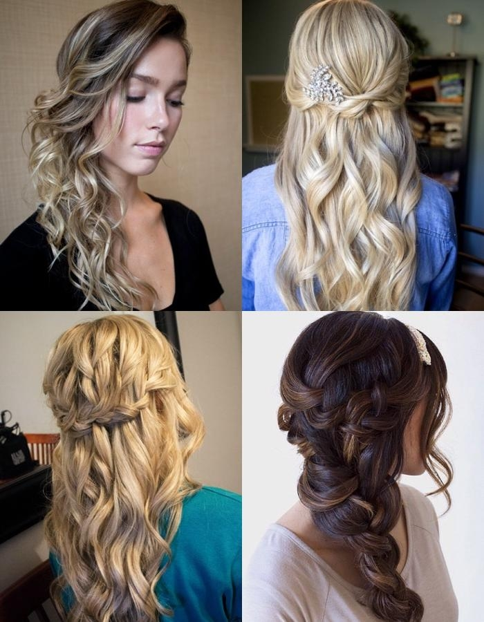 2017 Long Hairstyles To One Side Inside Long Hairstyles Pulled To One Side – Trendy Hairstyles In The Usa (View 1 of 20)