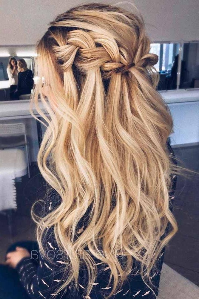 2017 Long Prom Hairstyles Inside 25+ Trending Prom Hairstyles Ideas On Pinterest | Hair Styles For (View 2 of 20)
