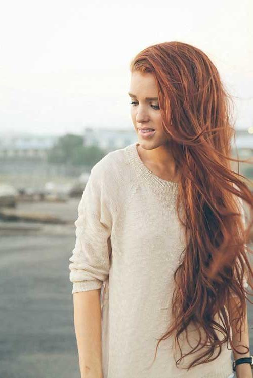 2017 Summer Long Hairstyles Regarding 35 Long Hairstyles For Summer 2014 – 2015 | Long Hairstyles  (View 1 of 20)
