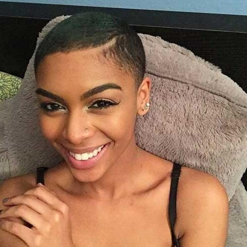 2017's Beautiful Short Hairstyles For Black Women | Short With Super Short Hairstyles For Black Women (View 3 of 20)