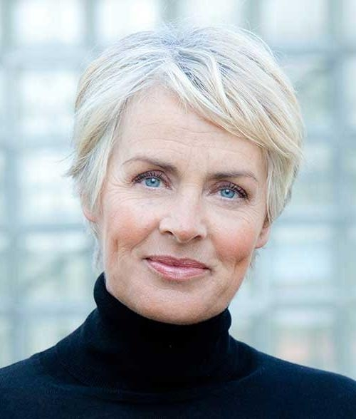 Featured Photo of Short Haircuts For Older Women