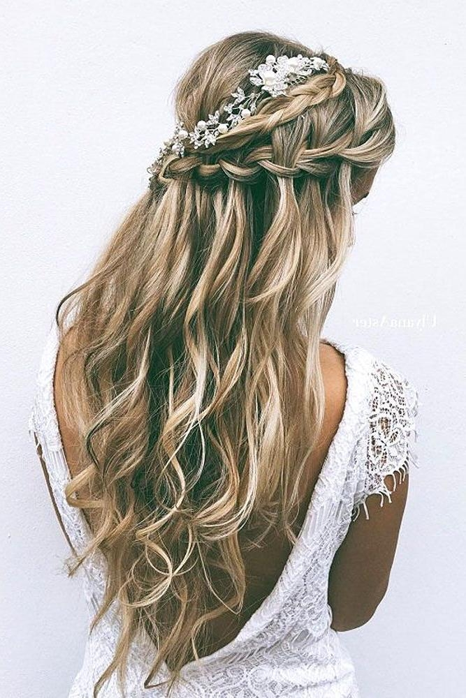 2018 Brides Long Hairstyles For Best 25+ Wedding Hairstyles Long Hair Ideas On Pinterest | Prom (View 14 of 20)