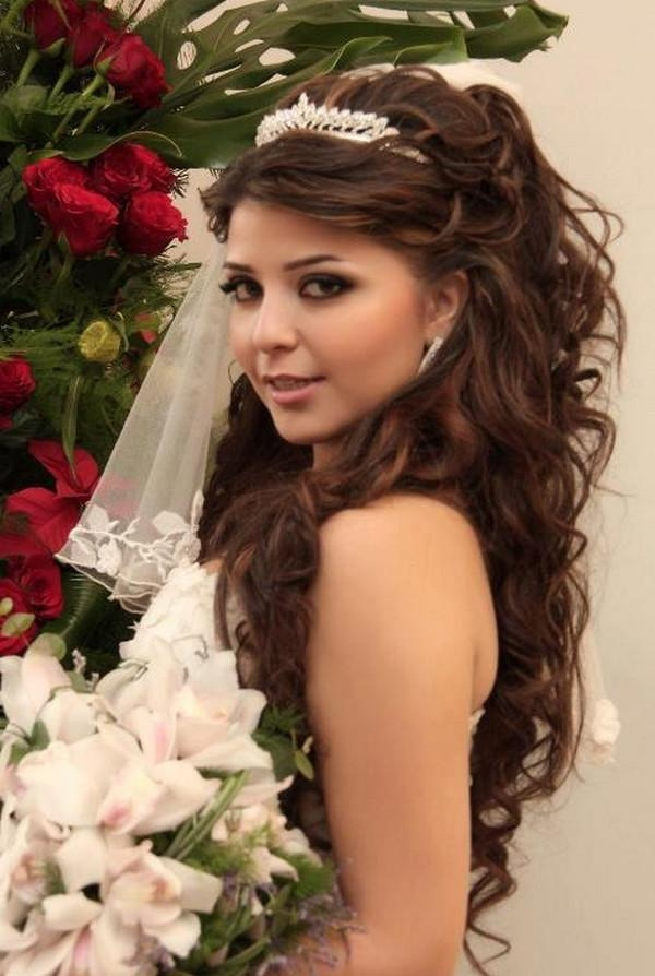 2018 Brides Long Hairstyles With To Wedding Hairstyles For Long Hair (View 8 of 20)