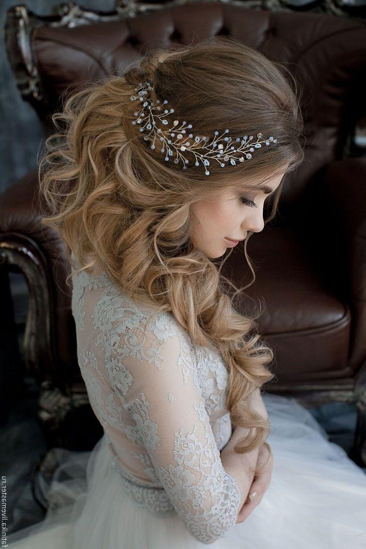 2018 Brides Long Hairstyles Within Best 25+ Bride Hairstyles Ideas On Pinterest | Bridal Hair (View 5 of 20)
