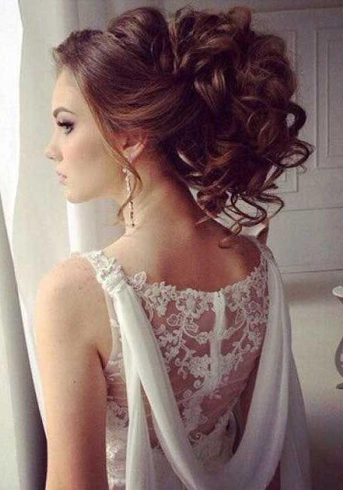 2018 Curly Long Hairstyles For Prom Pertaining To 20 Prom Hair Ideas For Long Hair | Hair | Pinterest | Prom Hair (View 1 of 15)