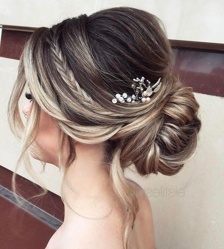 2018 Elegant Long Hairstyles For Weddings With Regard To Best 25+ Wedding Upstyles Ideas On Pinterest | Wedding Updo (View 14 of 20)