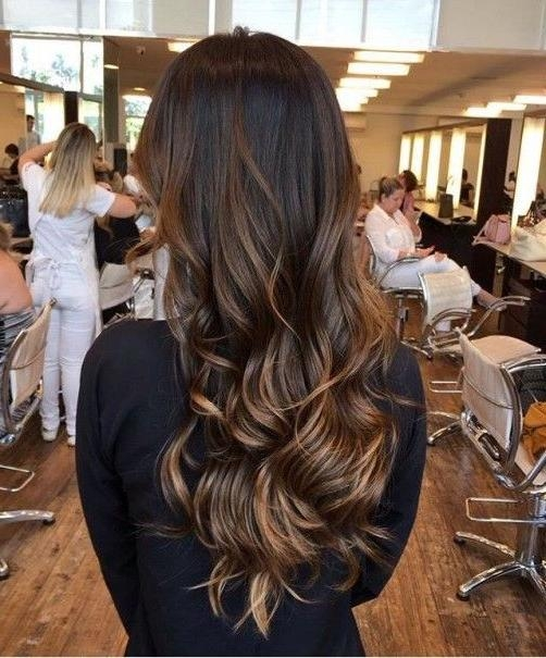 2018 Fall Long Hairstyles With 90 Best Long Hairstyles 2017 Images On Pinterest (View 10 of 15)