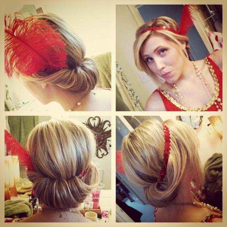 2018 Flapper Girl Long Hairstyles In 37 Best Flapper/1920's Photoshoot Images On Pinterest | Braids (View 2 of 20)