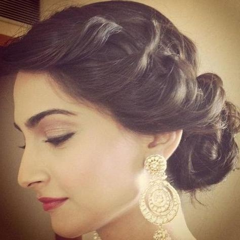 2018 Indian Bridal Long Hairstyles Within Best 25+ Indian Wedding Hairstyles Ideas On Pinterest | Indian (View 7 of 20)