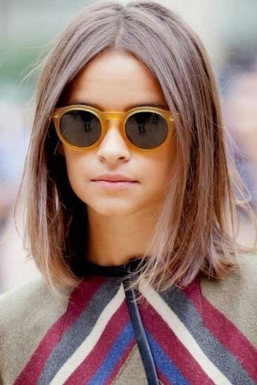 2018 Long Haircuts For Fine Straight Hair Intended For Best 25+ Haircuts For Straight Fine Hair Ideas On Pinterest | Bob (View 2 of 15)
