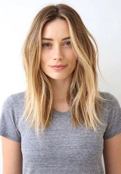 2018 Long Haircuts Straight Hair Regarding Best 25+ Straight Haircuts Ideas On Pinterest | Straight Long Bob (View 3 of 15)