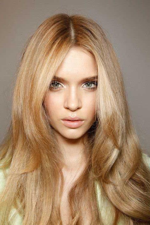 Photo Gallery Of Long Haircuts Thin Hair Viewing 12 Of 15 Photos