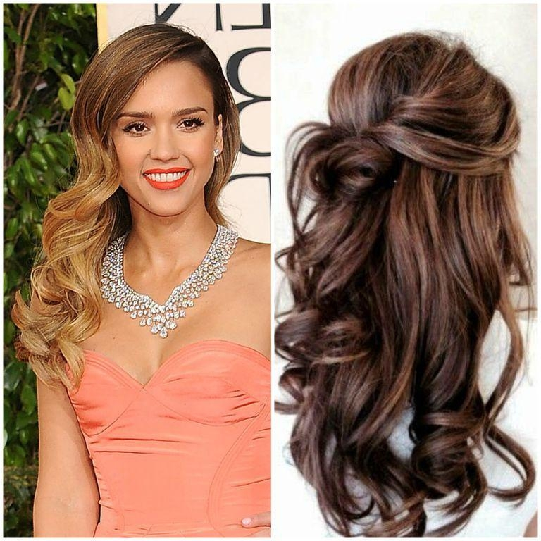 2018 Long Hairstyle For Prom Pertaining To Long Hairstyle Trends For Prom (no Updos Here) (View 12 of 20)