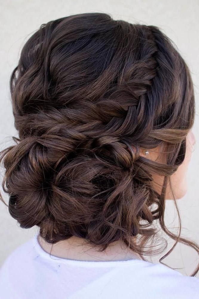 2018 Long Hairstyles For Bridesmaids In Best 25+ Bridesmaid Long Hair Ideas On Pinterest | Long Hair Updo (View 5 of 20)