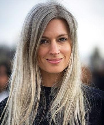 2018 Long Hairstyles For Gray Hair Pertaining To Gray Hair | Beautiful Long Gray Hair Style Pictures | Growing (View 3 of 15)