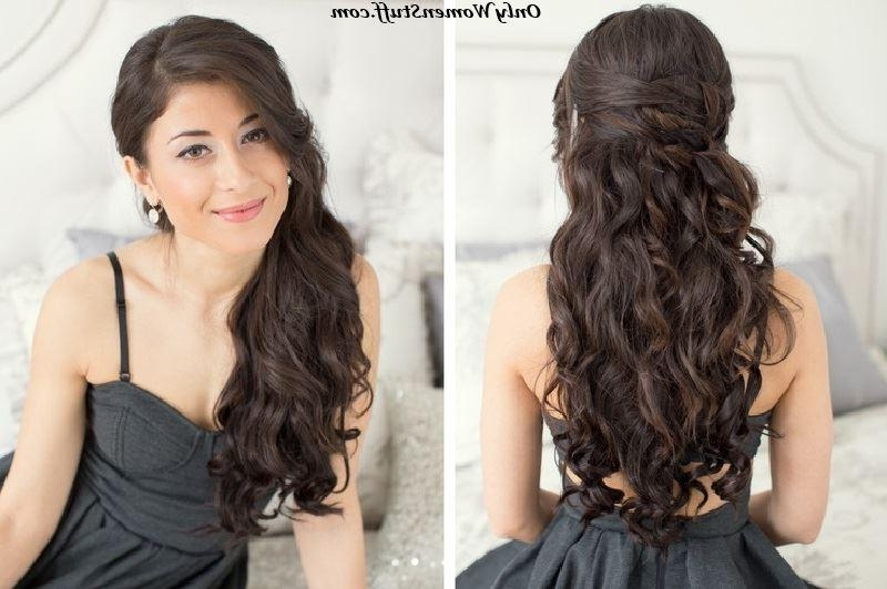 2018 Long Hairstyles Formal Occasions Pertaining To 42+ Easy Hairstyles For Girls – Simple Stepstep Pictures (View 5 of 20)