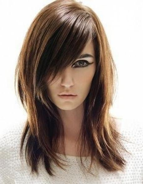 2018 Medium To Long Haircuts For Thin Hair Within 32 Best Styles For Thin Hair Images On Pinterest | Hairstyles (View 11 of 15)