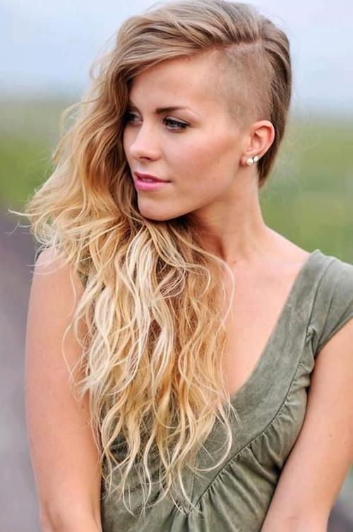 2018 Side Shaved Long Hairstyles For 66 Shaved Hairstyles For Women That Turn Heads Everywhere (View 13 of 20)