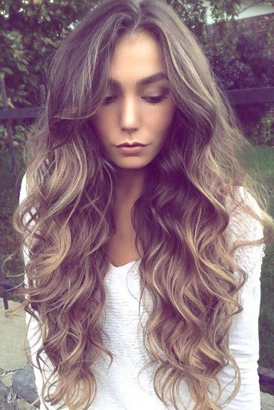 2018 Summer Long Hairstyles Inside Latest Top 10 Best Ladies Summer Long Hairstyles 2018 (View 2 of 20)