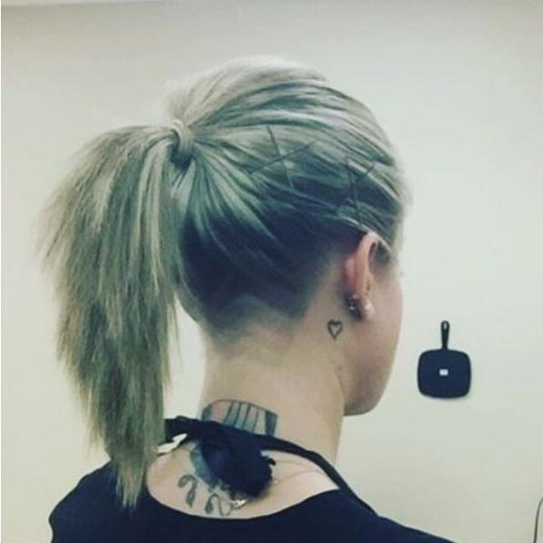 2018 Undercut Long Hairstyles For Women For 30 Awesome Undercut Hairstyles For Girls 2017 – Hairstyle Ideas (View 2 of 20)
