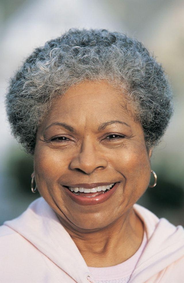 220 Best Silver/gray Natural Hair Images On Pinterest | Braids Pertaining To Short Hairstyles For Black Women With Gray Hair (View 3 of 20)