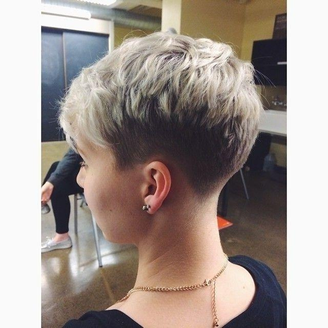 222 Best Cute Post Chemo Hairstyles To Consider Images On For Short Hairstyles Cut Around The Ears (View 4 of 20)