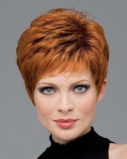 23 Great Short Haircuts For Women Over 50 | Styles Weekly In Auburn Short Haircuts (View 1 of 20)