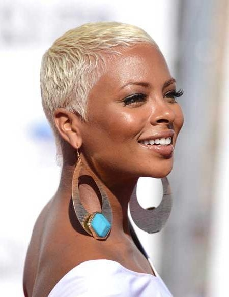 23 Must See Short Hairstyles For Black Women | Styles Weekly Pertaining To Super Short Hairstyles For Black Women (View 4 of 20)