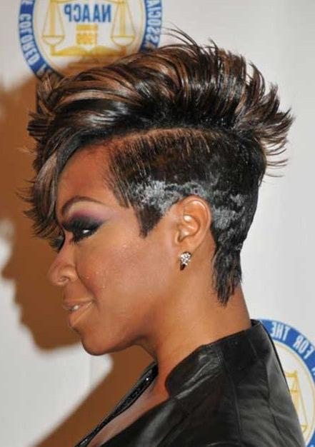 23 Popular Short Black Hairstyles For Women – Hairstyles Weekly With African American Ladies Short Haircuts (View 4 of 20)