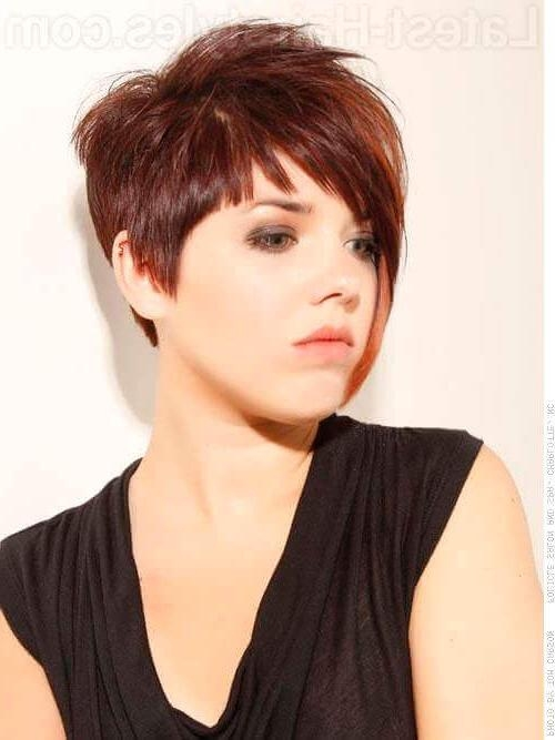 23 Short Haircuts For Thick Hair That People Are Obsessing Over In For Edgy Asymmetrical Short Haircuts (View 7 of 20)