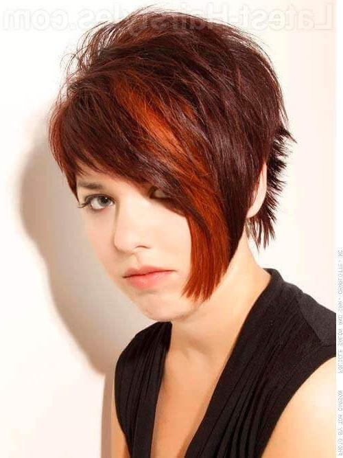 23 Short Haircuts For Thick Hair That People Are Obsessing Over In For Edgy Asymmetrical Short Haircuts (View 6 of 20)